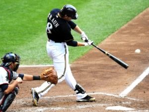 Ryan Braun Front Toe Open
