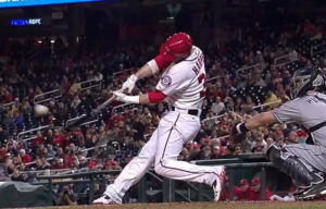 Bryce Harper Locally Flexing his C-Spine