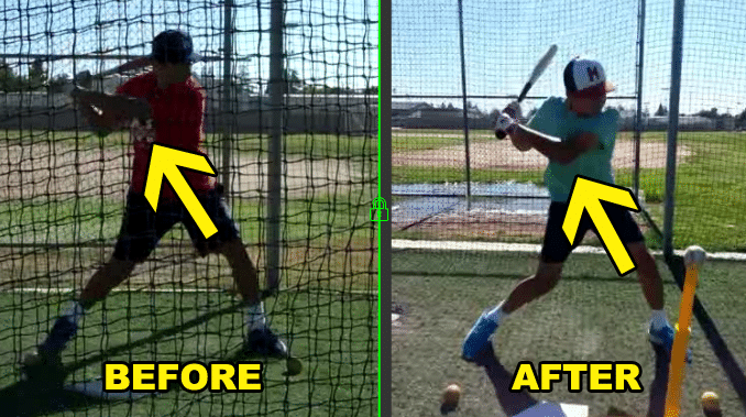 #1 Youth Baseball Swing Fix To Deflating Bat Speed
