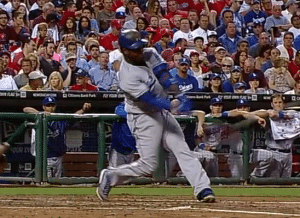 Hanley Ramirez at contact on a home-run