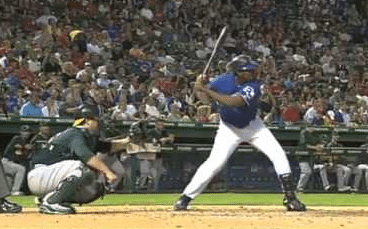 Baseball Training: Vlad Guerrero Fight Position (landing)