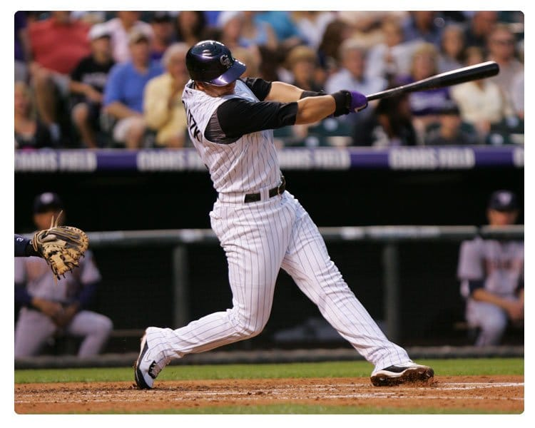 Baseball Training: Troy Tulowitzki Power-V