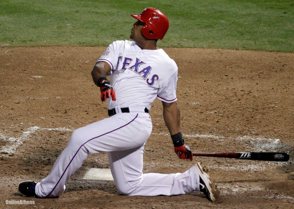 Adrian Beltre VIDEO: Can Driving the Ball Be This Simple?