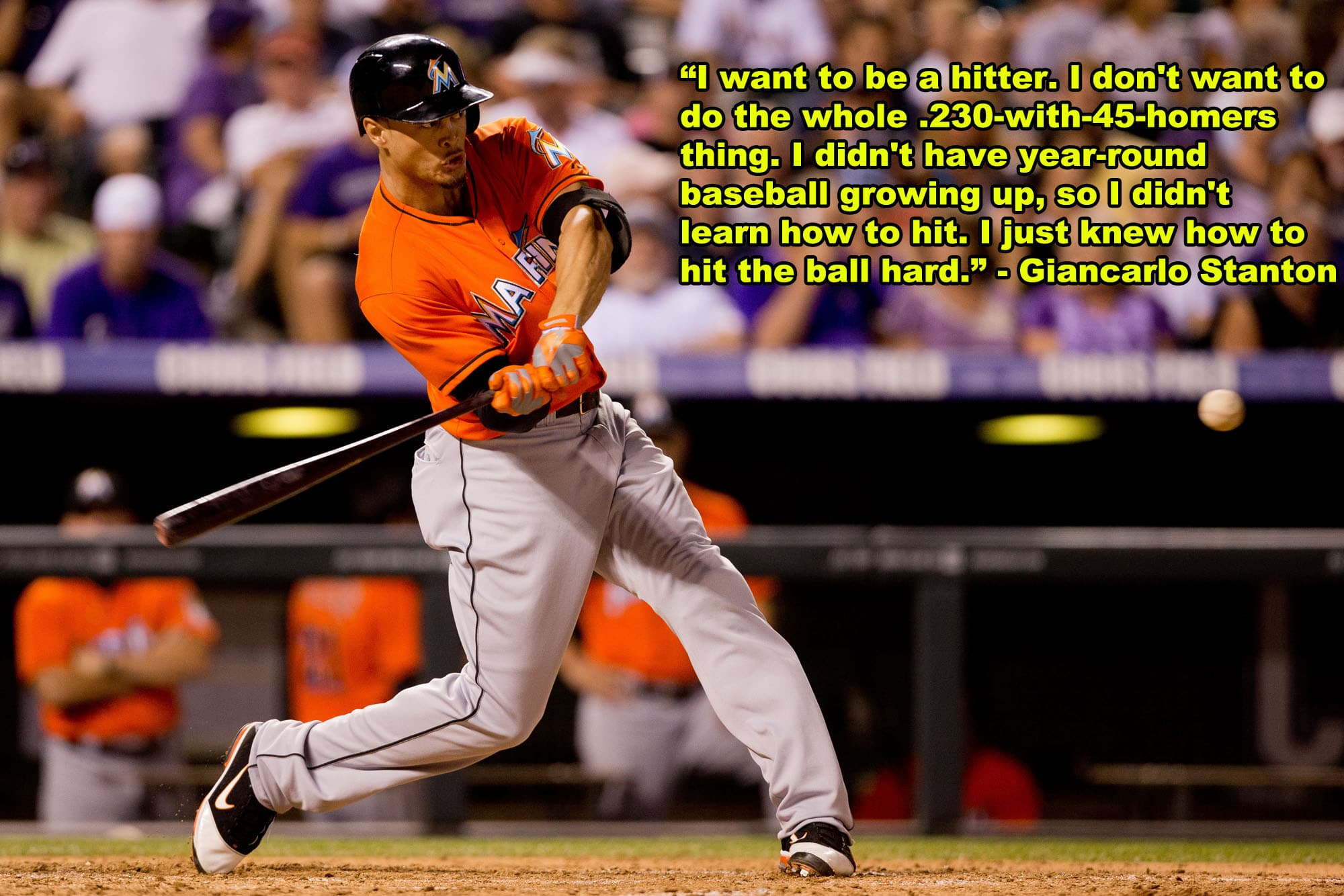 Baseball Quotes: Giancarlo Stanton