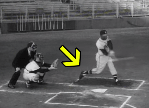 Hank Aaron Reveals Ways To Hit A Homer - Back Foot