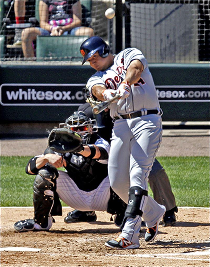 Hitting a Baseball: Miguel Cabrera