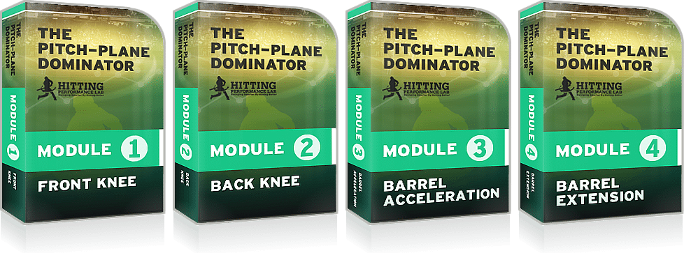 Baseball Hitting: The Pitch-Plane Dominator Course
