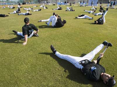 Conditioning Drills For Baseball Warmup