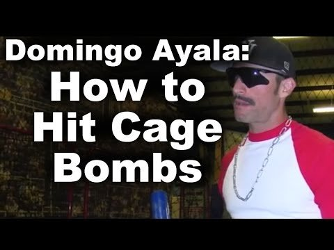 Domingo Ayala: How To Hit Cage Bombs