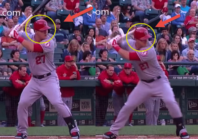 Perfect Swing Hacking With Forward Momentum: Mike Trout