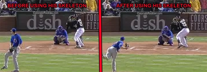 Wilin Rosario Baseball batting Tips: Catapult Loading System