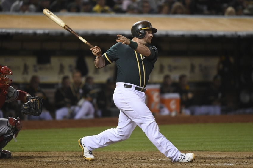 Baseball Swing Plane: Stephen Vogt