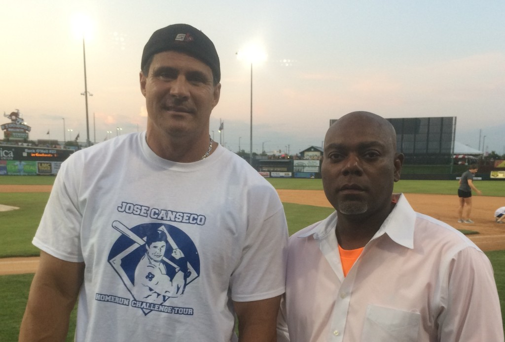 Ken Carswell & Jose Canseco
