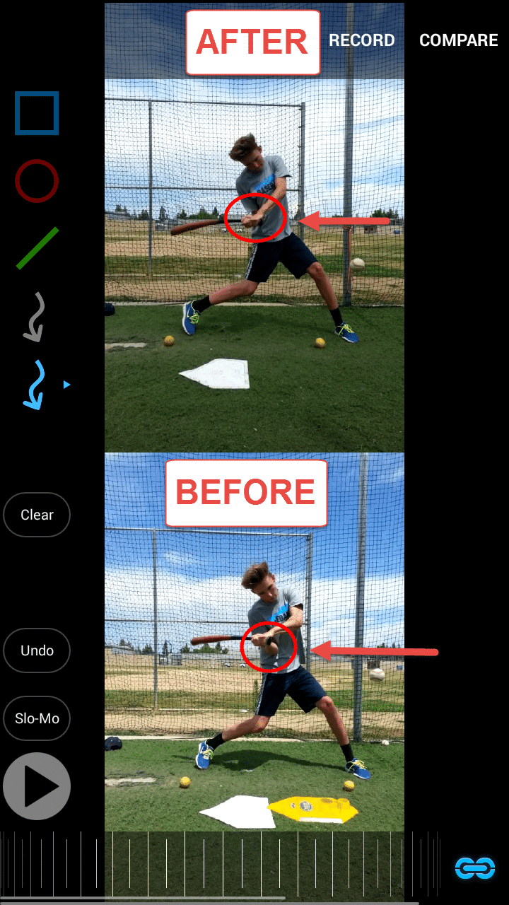 Baseball Hitting Instruction: Zack Racing Rear Elbow