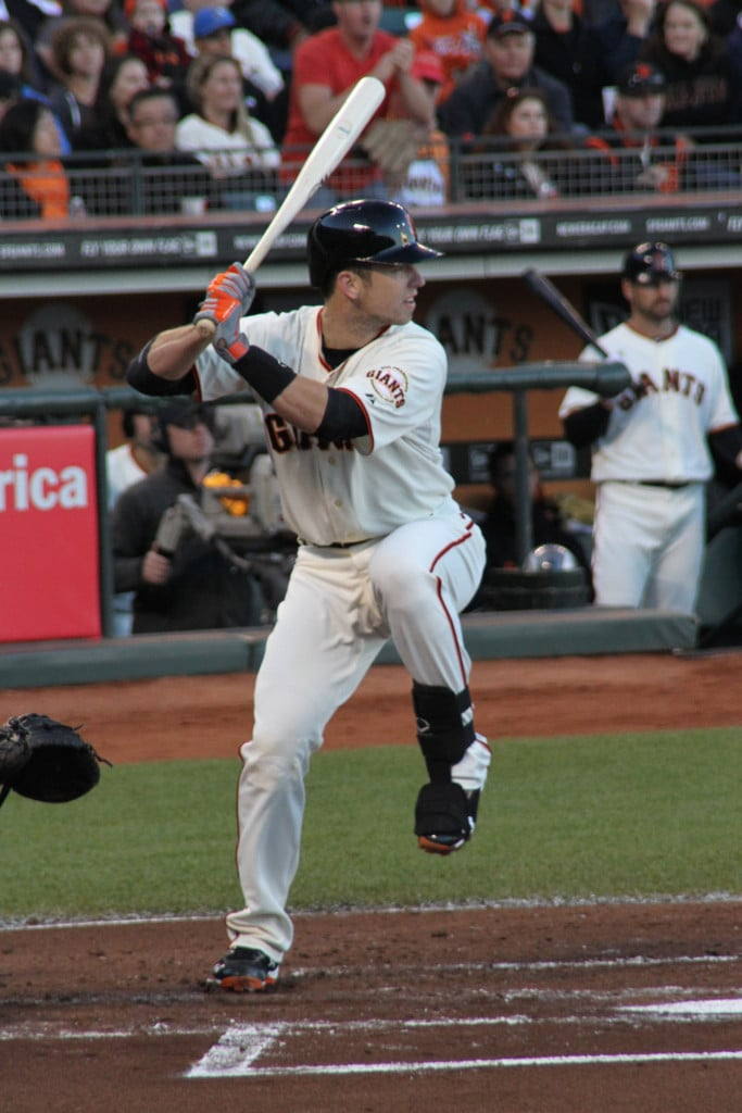 Buster Posey Back Knee Position