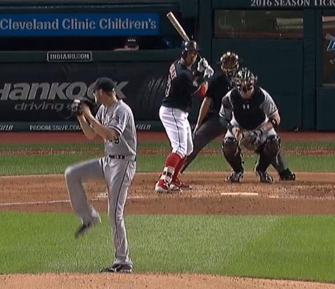 Baseball Batting Stance: Michael Brantley