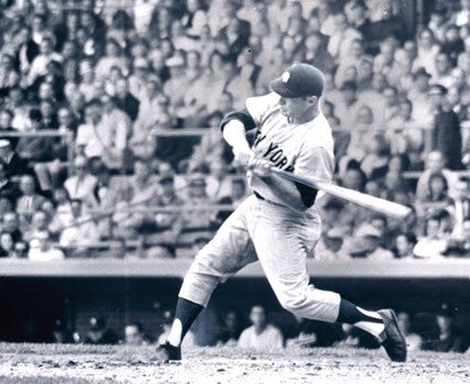 Mickey Mantle Bat Lag