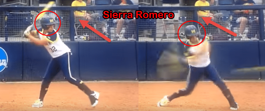 Softball Hitting Tips for Kids: Sierra Romero Head Movement