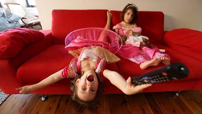 Softball Hitting Tips for Kids: Watching TV Upside Down