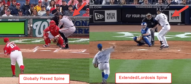 Baseball Hitting Drills Off Tee: Hunter Pence v. Derek Jeter Spine Position