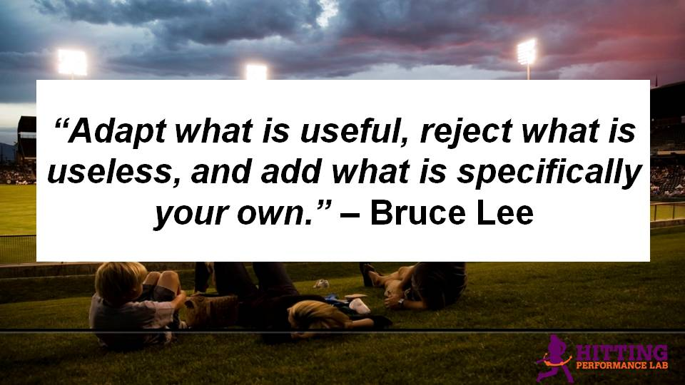 Bruce Lee Adapt What is Useful Quote