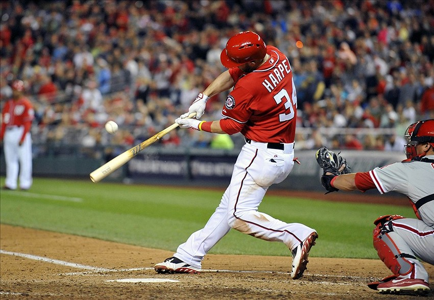 Rotational Linear Hitting Mechanics: Bryce Harper Shoulders Are Ear Poison