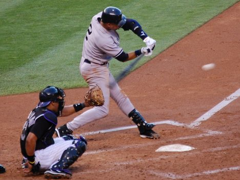 Derek Jeter: Hands Inside The Baseball