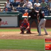 Giancarlo Stanton: Closed Stance