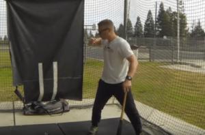 "Hitting Softball Drills: Stop ""Hands Drop"" Video"