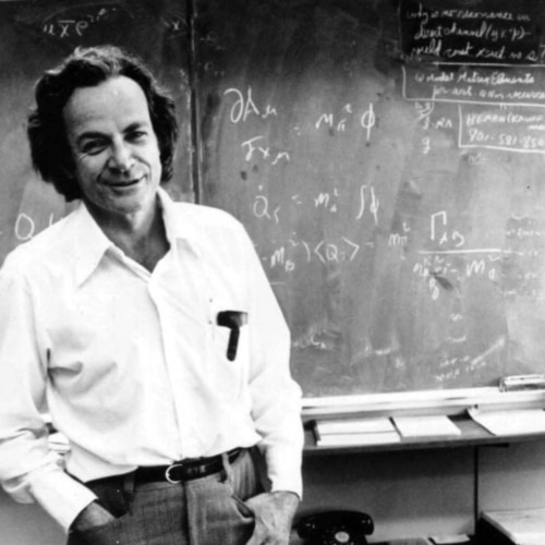 Scientist Dr. Richard Feynman