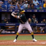 Khris Davis Swing Analysis