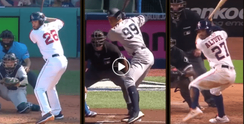 Best Hitters Baseball Swings: JD Martinez, Aaron Judge, & Jose Altuve