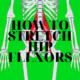 How To Stretch Hip Flexors