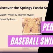 Perfect Baseball Swing