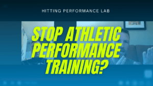 STOP Athletic Performance Training? [VIDEO]