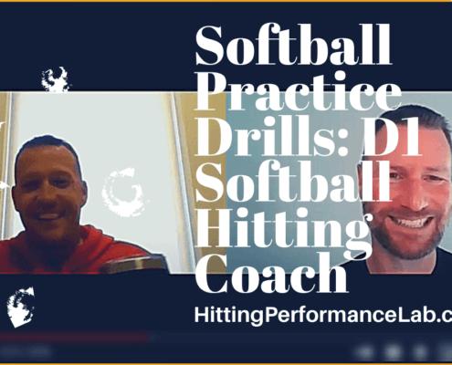 Softball Practice Drills
